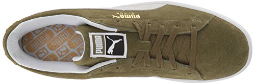Olive puma White Ankle Verde Puma high capulet Sneaker Fashion Men's Suede 90681 qg4Fz6