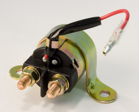 Actual parts may vary. POLARIS STARTER SOLENOID SWITCH Stock Photo Manufacturer Part Number: 65-501-AD Manufacturer: RICKS Condition: New