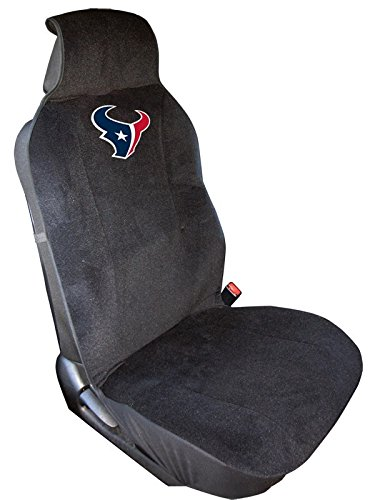 Fremont Die NFL Houston Texans Seat Cover, Black, One Size
