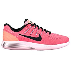 Nike Womens Lunarglide 8 Hot Punchblacklava Glow Running Shoe 9 Women Us