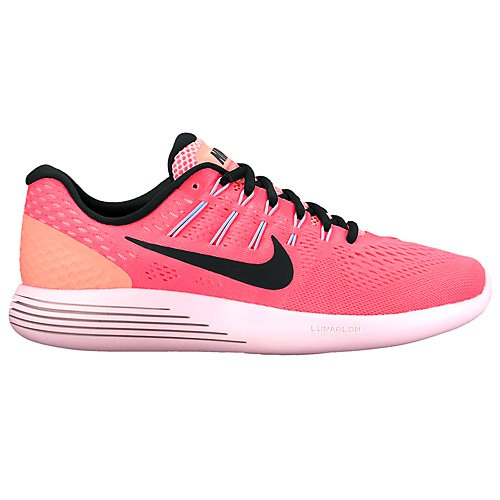 NIKE Women's Lunarglide 8 B01H5WQY82 6.5 B(M) US|Hot Punch/Black-lava Glow
