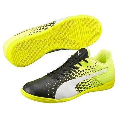Puma Men s Evospeed Sala Graphic Black Leather Running Shoes - 6 UK India  (39 95bf0a6af
