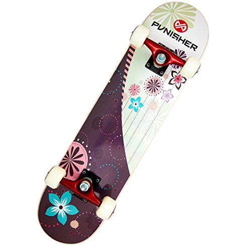 - Punisher Skateboards Soul Complete 31-Inch Skateboard with Canadian Maple