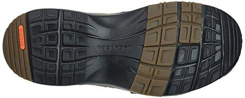 Rockport Hombres Rocsports Lite Five Slip On Sneaker Dark Bitter Chocolate