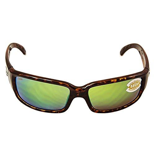 Costa Del Mar Caballito Sunglasses, Tortoise, Green Mirror 580P - 580p Costa Mar Del