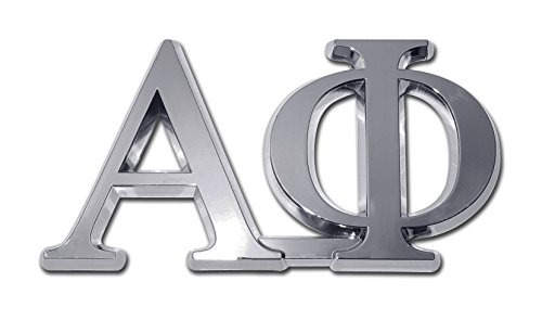 Alpha Phi Sorority Chrome Auto Emblem