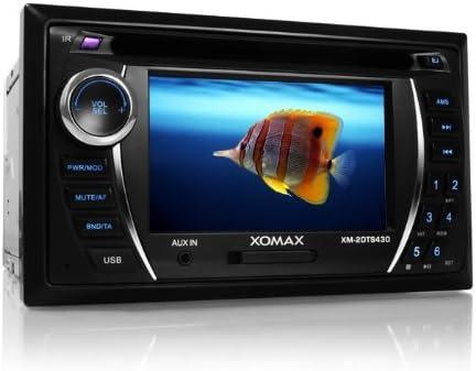 Xomax Xm 2dtsb431 Moniceiver Autoradio Mit 11 Cm Elektronik