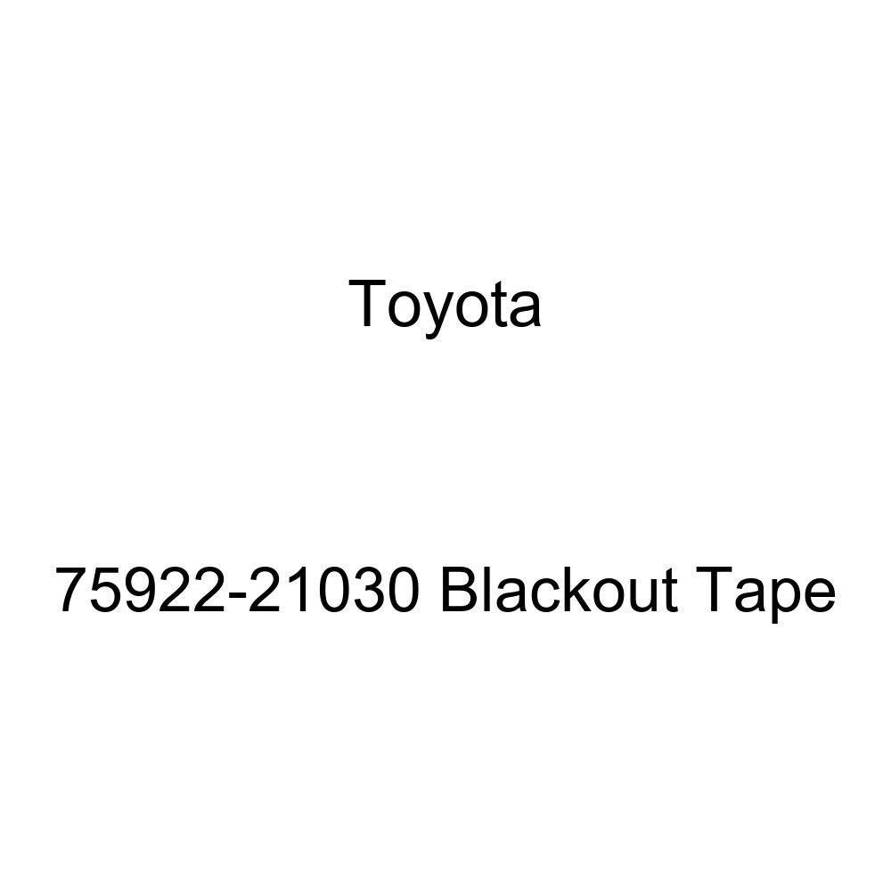 Toyota Genuine 75922-21030 Blackout Tape