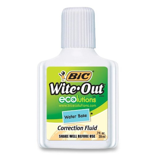 Wite Out Brand Water Based Correction Fluid