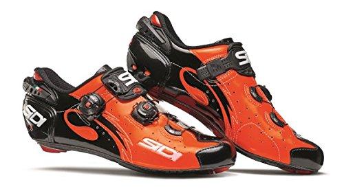 Sidi Wire Carbon Road Shoes Orange & Black Wxhod