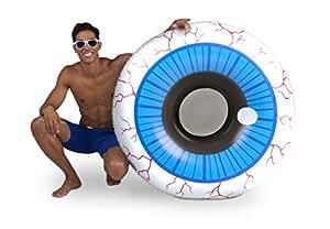 BigMouth Inc Giant Eyeball Pool Float w/ Comfy Mesh Seat