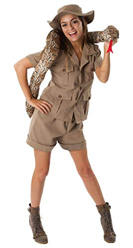 Adult Safari Lady Halloween Costume