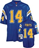 Reebok San Diego Chargers Dan Fouts Premier Throwback Jersey