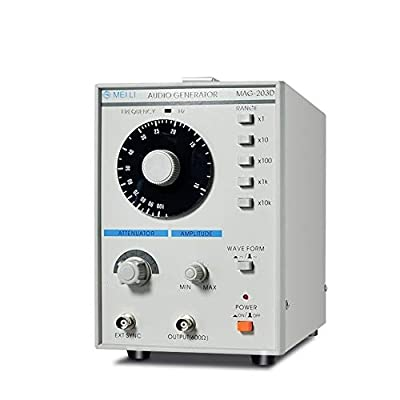 Function Signal Generator 10Hz-1MHz MAG-203D Sinusoidal Waveform Low Distortion Audio Signal Source (Size : 220V)