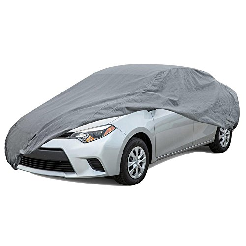 BDK Max Shield Car Cover for Toyota Corolla - UV Proof, Water Repellent, Paint Safe, Breathable