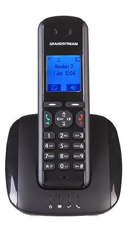Grandstream DP Teléfono VOIP inalámbrico negro