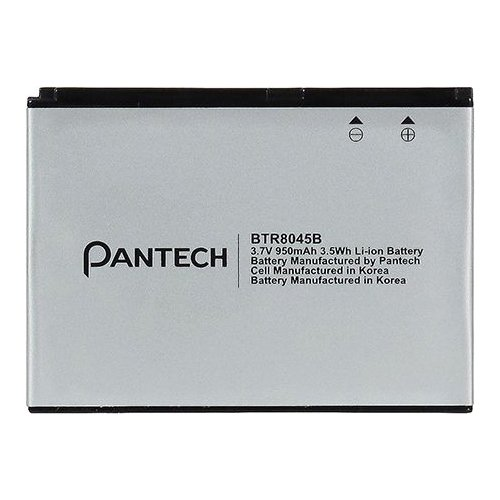 Pantech BTR8045B Battery Jest 2 Original OEM – Non-Retail Packaging – Light Grey
