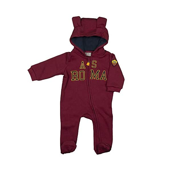 AS Roma Tutina in Felpa con Zip R13866 2