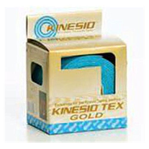 WP000-KN-GKT25024 KN-GKT25024 Tape Kinesio Tex Gold Athletic LF 2''x4.3yd Blue 6 Roll Per Box # KN-GKT25024 From National Medical Alliance by National Medical Alliance