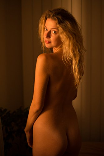Gorgeous Blonde Glorious Morning Light Artistic Nude Photography