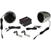 Renegade RXA100C Powersports Sound System - Set of 2 (Chrome)