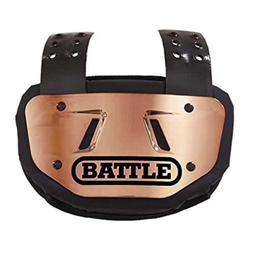 Battle Youth Chrome Football Back Bone Back Plate, Gold/Black Chrome ()