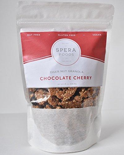 Tiger Nut Granola: nut free, gluten free, vegan (Chocolate Cherry)