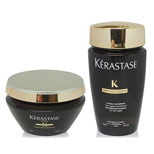 Kerastase Chronologiste Bain and Masque Creme Chronologiste 250ml 200ml