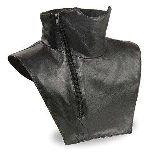 Blk Neck - Shaf International SH165-BLK-L/XL Leather Neck Warmer (Black, Large/X-Large)
