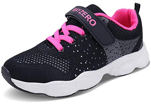 Lingmu Girl's Boys Fashionable Running Shoes Kid Breathable Non-Slip Tennis Shoes Outdoor Sports Shoes Children's (Toddler/Little Kid/Big Kid) (Sport Shoes For Children)