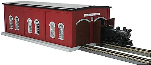 O Dual Stall Engine Shed