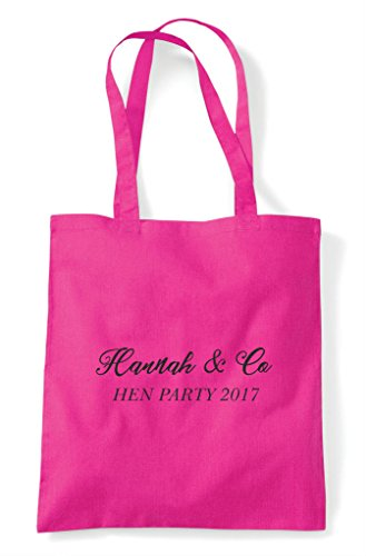 Do Name Tote Party Emerald Shopper Customised Personalised Co Hen And Bag gTYExBgw