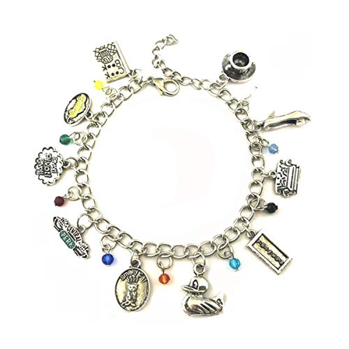 Blingsoul TV Show Charm Bracelet - Friends Costume Bracelets Jewelry Merchandise Gifts for Women -