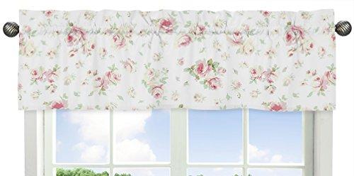 Sweet Jojo Designs Riley's Roses Floral Collection Window Va