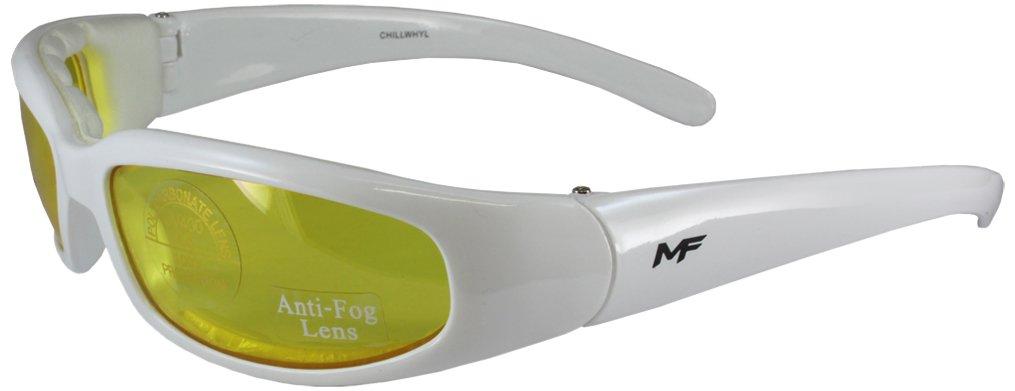 MF Chill Glasses Black Frame//Clear Lens