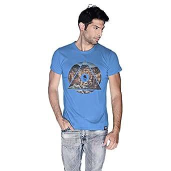 Creo Almaty Mountain T-Shirt For Men - M, Blue