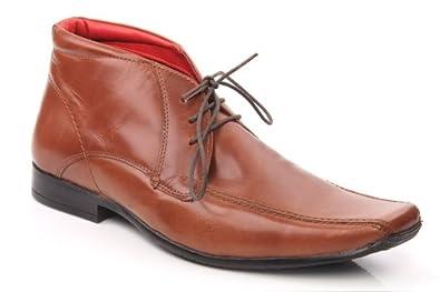 2d5ccf5ebc715 Unze Oasi' Men Leather Formal Shoes Lace Up Shoes