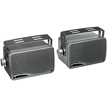 speakers in box. pyle plmr24s 3.5-inch 200 watt 3-way weather proof mini box speaker system speakers in