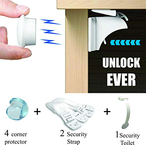 magnetic cabinet child safety adhesive