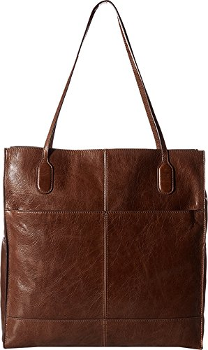 Hobo Women's Leather Finley Tote Bag (Cafe) by HOBO