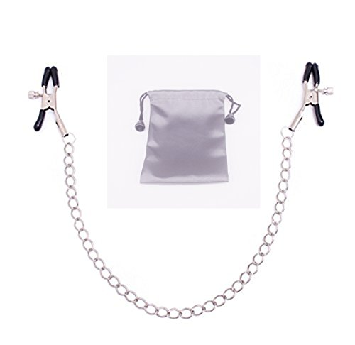Price comparison product image Metal Adjustable Clamps Leather Collars Chains Dress Accessories (Steel)