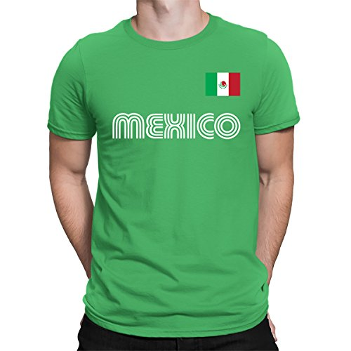 0839639a2 Amazon.com  SpiritForged Apparel Mexico Soccer Jersey Men s T-Shirt   Clothing