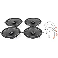 2008-2012 Ford Escape Complete Premium Factory Replacement Speaker Package by Skar Audio