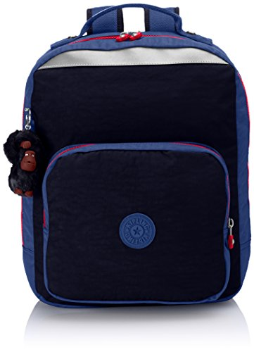 Blue Medium Blk Navy AVA Blue Backpack Blk Blue Kipling Navy qYU5xn