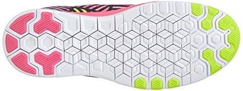 Nike Free 5.0 Tr Fit 5 Prt (roze Pow / Volt-zwart) Vrouwen Loopschoenen 9.5 Ons
