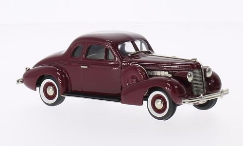 Buick Special sport Coupe M-46S, dark red, 1938, Model Car, Ready-made, Brooklin - 46s Car
