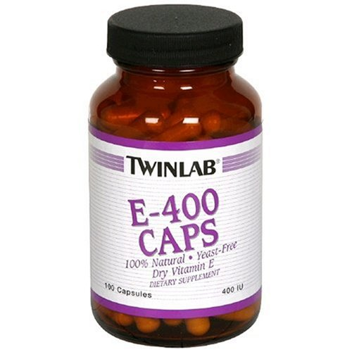 Twinlab, E-400 Caps, 400 IU, 100 Capsules by Twinlab