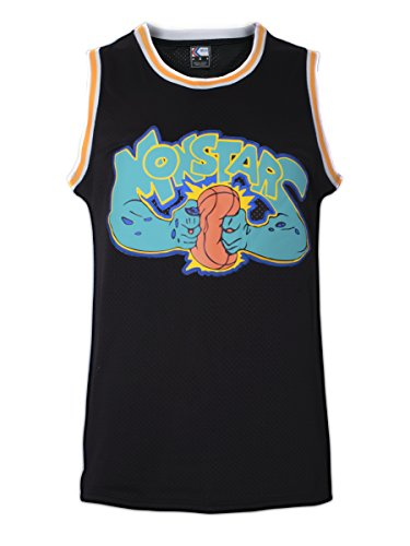 MOLPE Monstar Space Jam Basketball Jersey S-XXXL Black (XXXL) -