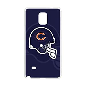 Chicago Bear Samsung Galaxy Note 4 Cell Phone Case White F2930829