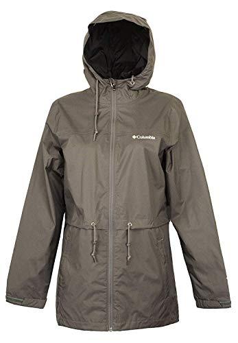 Columbia Omni-Tech Timber Pointe Casual Womens Waterproof Rain Jacket (M) (Columbia Omnitech Womens)